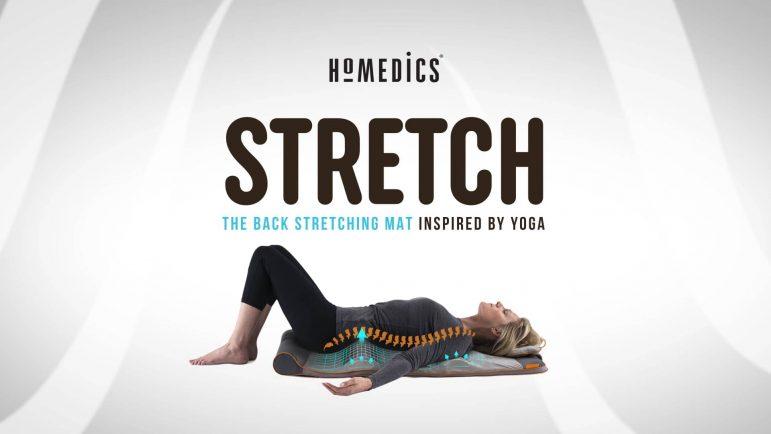 Je teste le tapis Stretching Homedics
