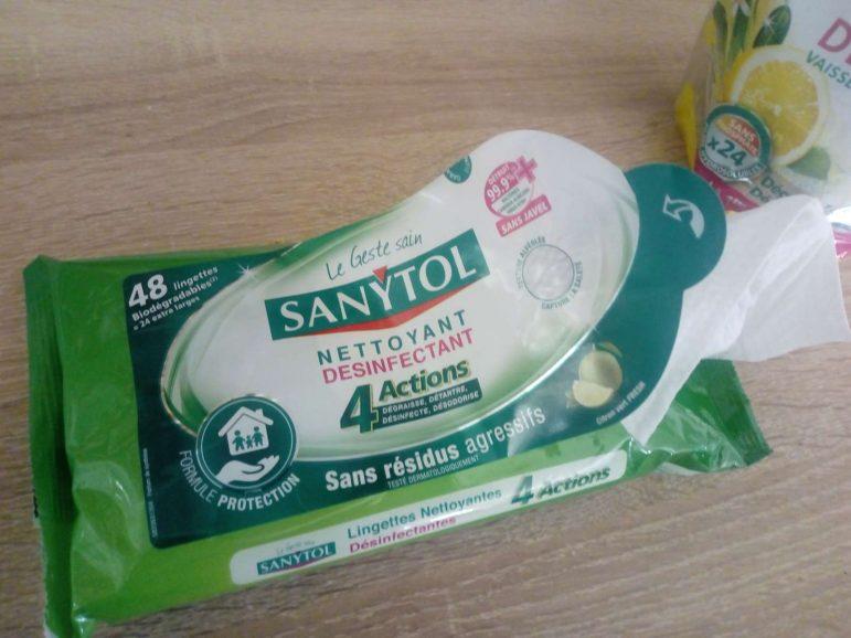 Adieu les bactéries avec Sanytol