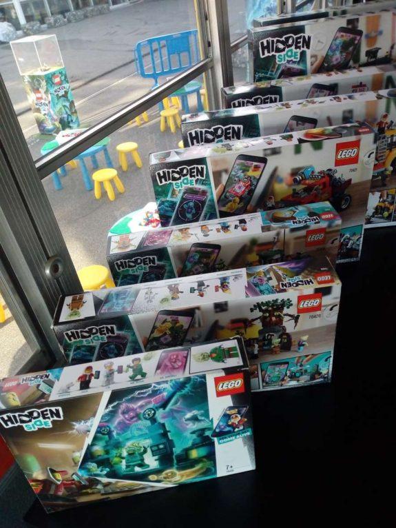 Attrape les fantômes avec la nouvelle collection Lego Hidden Side