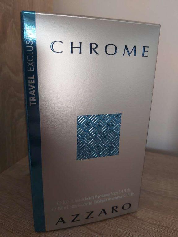 Une fête des pères parfumée avec le parfum Chrome d'AZZARO