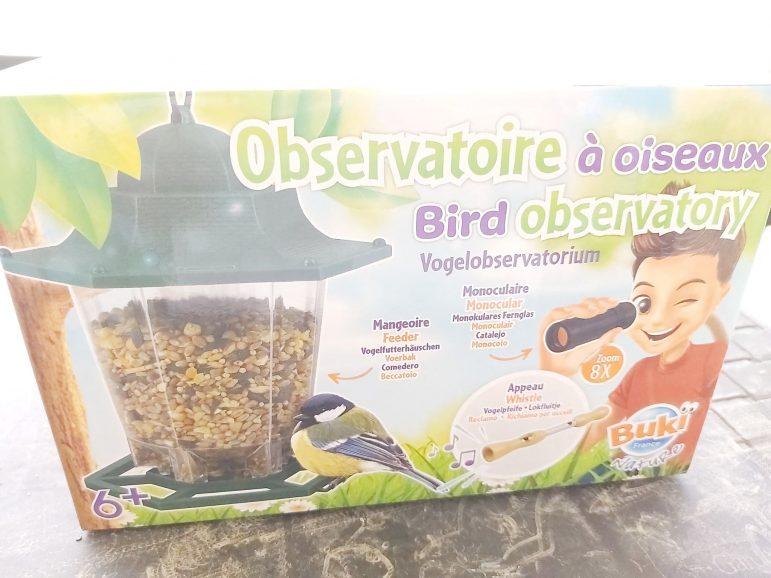 On teste l'observatoire à oiseaux Buki