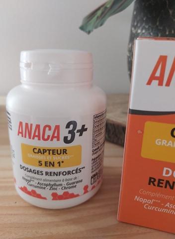 Objectif graisses, sucres et perte de poids avec Anaca3+