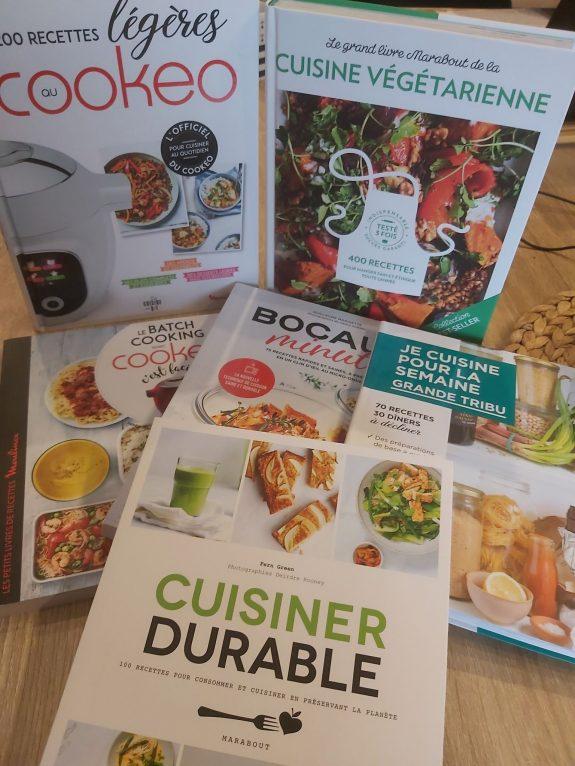 Mes indispensables livres de cuisine / Mars 2021