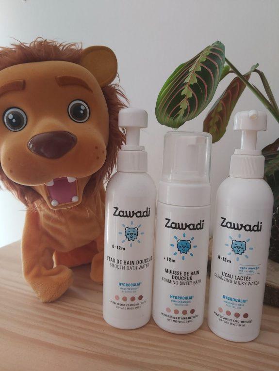 Zawadi, la marque de soins pour la peau sèche de bébé