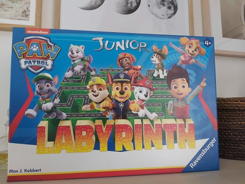 Labyrinth Junior lance sa version Pat Patrouille / Ravensburger