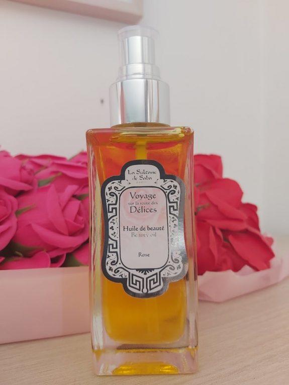 L'huile de beauté Voyage sur la route des délices / La Sultane de Saba