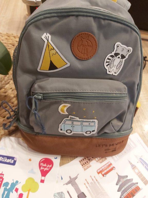 Le sac à dos pour la rentrée de mon petit dernier Stikets / Lässig