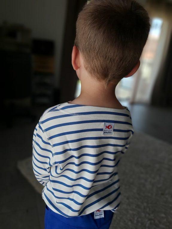 Louis a testé les vêtements réversibles Bonjour Maurice